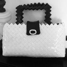 Candy wrapper bags Chanel  borsa carta by mariella di miceli unique accessori
