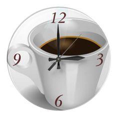 Cuppa Cuppa Burnin' Love Clocks