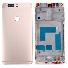 [$20.30] iPartsBuy Huawei Honor V8 Battery Back Cover + Front Housing LCD Frame Bezel Plate(Gold)