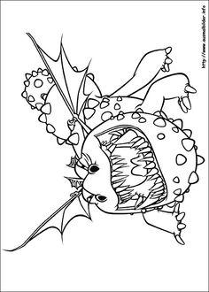 Die 62 Besten Bilder Von Dragons Colouring Pages For Kids How To