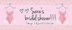 My FB bridal´s shower invitation!!! :)