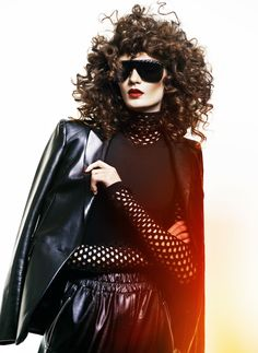 "MATEUSZ STANKIEWICZ | Fashion & Celebrity Photographer | Pani Magazine ""Leather"" | AFPHOTO"