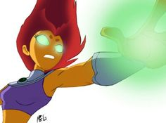 Starfire! My absolute favorite hero of all time!