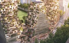 MVRDV, OVG Real Estate, competition, highrise, vertical village, mixed use…