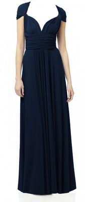 Maxi Convertible - Navy bridesmaid dresses