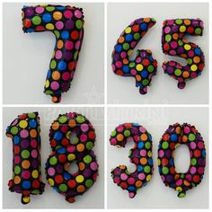 Yepyeni folyo balonlarımız geldi. Siyah üzerine rengarenk puantiyeli rakam folyo balonlarımız tap taze sitemizde satışda 😊 Sipariş için www.partivitrini.com/rakam-balon-rengarenk-puantiyeli-folyo adresimizden sipariş verebilirsiniz.