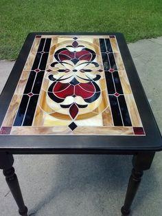 Custom Made Custom Mosaic Table Tops