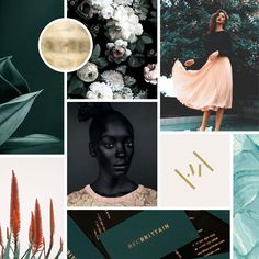 Moodboard for a Fashion Label | Sarah Le Donne