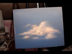 Acrylic Painting Techniques: Clouds: Learn to Paint - YouTube