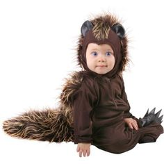 Amazon.com: Unique Infant Baby Porcupine Animal Costume (6-12 Months): Clothing