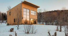 Un hogar en el bosque, inspiración para la construcción de casas ecológicas