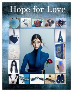 """""""Hope for Love: Handmade & Vintage Gifts in Blue"""" by paulinemcewen ❤ liked on Polyvore featuring interior, interiors, interior design, home, home decor, interior decorating, rustic, vintage and country"""