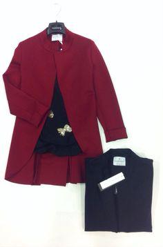 #giacca lunga #top fiocchi
