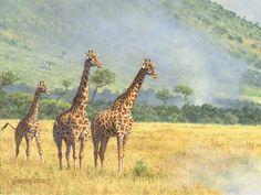 Original African Wildlife ArtBrian Jarvi 77