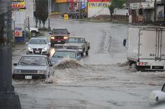 Sin registro de personas en albergues, dos inundaciones en patios y autos varados al sur de la ciudad   El Puntero