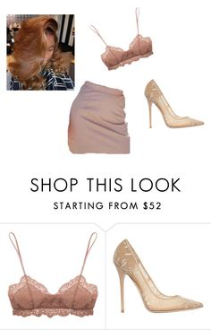 """""""Untitled #1419"""" by beautyqueen-927 ❤ liked on Polyvore featuring Eberjey and Jimmy Choo"""