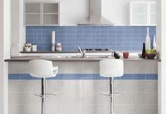 Vogue Rectangular tiles for the kitchen