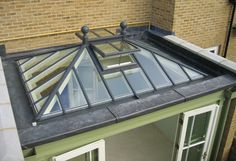 Increase natural light into your home with an aluminium or timber roof lantern. Large selection of roof lanterns to suit any project. Roof Curb, Roof Lantern, Pergola With Roof, Roofing, Lantern Roof Light, Roof Window, Green Roof, Roof Truss Design, Roof Design