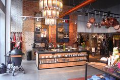 Kookwinkel Bianca Bonte store by OmasHuisje Design, Oostburg   The Netherlands store design