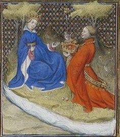 Giovanni Boccaccio, De Claris mulieribus; Paris Bibliothèque nationale de France MSS Français 598; French; 1403, 60r. http://www.europeanaregia.eu/en/manuscripts/paris-bibliotheque-nationale-france-mss-francais-598/en