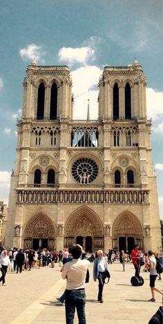 Cathédrale Notre-Dame, Paris, France - Notre-Dame de Paris! A...