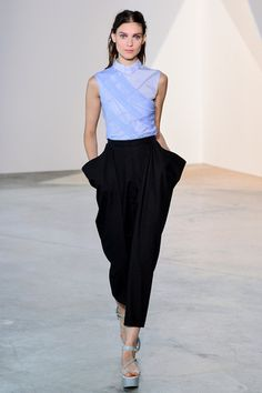 Vionnet Spring 2014 Ready-to-Wear Collection Slideshow on Style.com - This top is so great!!