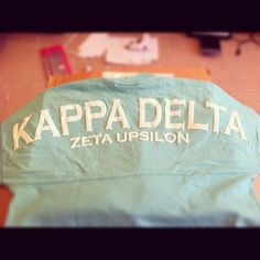 Kappa Delta spirit jersey GREEK WEEK PLEEEEAASE