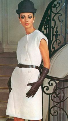 1968 Givenchy.French Vogue,March