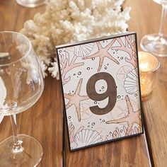 Using our free printable wedding table number designs, you'll be able to make the most darling table numbers your guests have ever seen! Check them out!