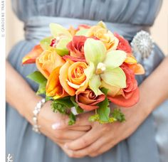 roses and cymbidium orchids #Cymbidium Orchid #Orchids #http://growingorchids.biz/