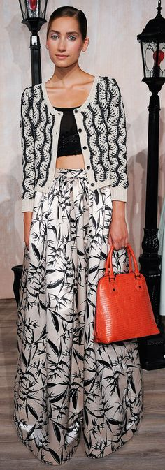 Alice and Olivia | S/S 2014 just needs a longer top...