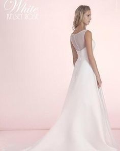 Kelsey rose white collection wedding dress 10014