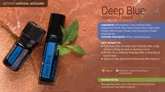 Deep Blue® soothing blend contains wintergreen, camphor, peppermint, blue tansy, blue chamomile, helichrysum and osmanthus essential oils which have been shown through research to support a healthy inflammatory response, soothe sore muscles and joints, and support healthy circulation. Massage onto achy muscles and joints or rub on shoulders and back to provide soothing relief after a long hard day.