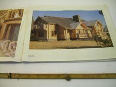 Handmade Originals Oregon Log Home Co Sisters House plans 1987 w price list tiny  | eBay #logcabins #tinyhouse #plans