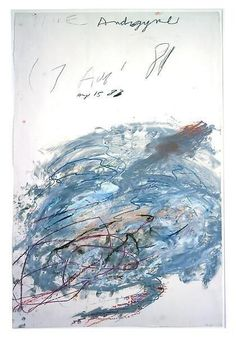 Cy Twombly (USA, 1928-2011) - Untitled, 1981
