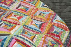 anna maria horner voile string quilt top by filminthefridge, via Flickr