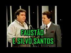 Faustão no programa de Silvo Santos - YouTube