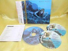 CD/Japan- ROXY MUSIC Siren w/OBI RARE mini-LP HDCD remaster 1975 - Bryan Ferry #ArtRockNewWavePopRock