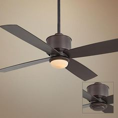 "52"" Strata Oil-Rubbed Bronze Ceiling Fan with Light"