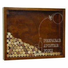 Quadro de lembranças: Rolhas de vinho Pesquisa de Mercado (EDITADO)