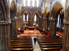 Glasgow Cathedral - Visit the only intact pre-Reformation church in mainland Scotland, featuring magnificent Mediaeval Gothic architecture and stunning stained glass. Part of Glasgow Doors Open Day Glasgow Cathedral, Medieval Gothic, Opening Day, Gothic Architecture, Beautiful Buildings, Cathedrals, Reformation, Stained Glass, Scotland