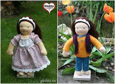 Zoé babája, két ruhával waldorf inspired doll Waldorf doll by Anime Dolls, Waldorf Dolls, Hungary, Harajuku, Keto, Etsy Shop, Cartoon, Inspired, Handmade
