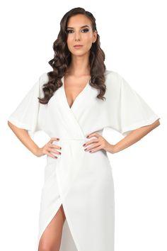 d8239d0e83fa Дамска рокля Carla by Rozarancio - бял