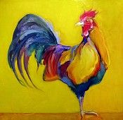 Rooster by Bob Ransley    I LOVE everything this guy does!