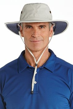 Our Mens Shapeable Wide Brim Hat delivers big-time protection in an  ultra-light package. Like all Coolibar UV Sun Hats for Men 51ed828abab0