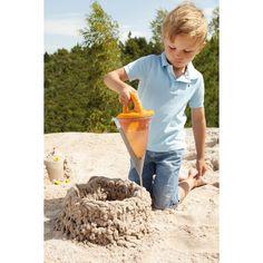 Con esta manga se pueden mezclar arena y agua para crear castillos de arena y todo lo que puedas imaginar.  Ideal para la #playa y el arenero.  Y sobre todo muy divertido.#juguete #kanikas #educativo