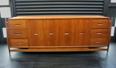 > Frank Kyle was an American sculptor and furniture designer from Minneapolis. <  Frank Kyle Credenza image 2