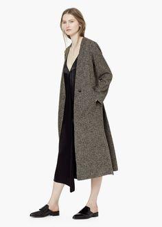 PREMIUM - Abrigo largo lana