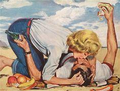 Illustration by Bob Hilbert, 1955