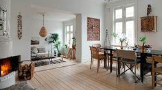 Prachtig rustiek appartement vol natuurlijke materialen